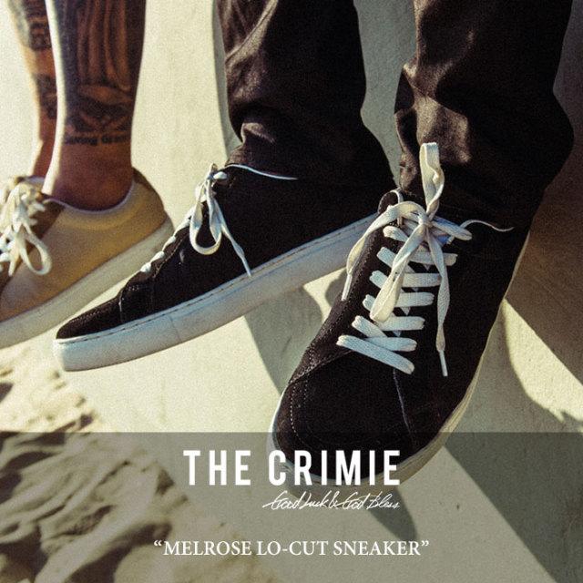 【SALE 50%OFF】 CRIMIE(クライミー) MELROSE LO-CUT SNEAKER 【2018SPRING/SUMMER新作】【C1H1-SB01】
