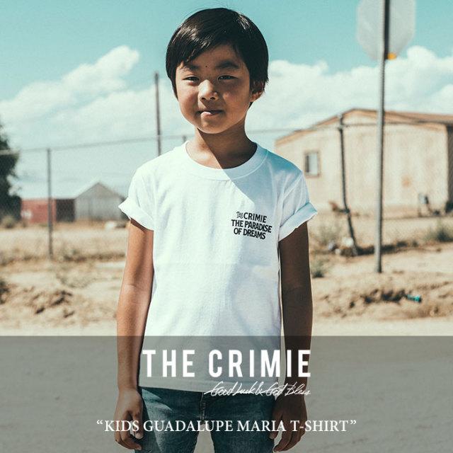 【SALE】 CRIMIE(クライミー) KIDS GUADALUPE MARIA T-SHIRT 【2018SPRING/SUMMER新作】 【即発送可能】 【C1H1-TEK3】 【CRIM