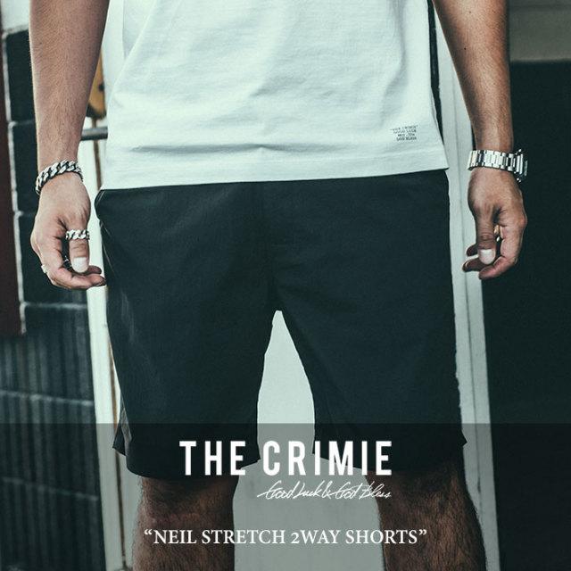 【SALE】 CRIMIE(クライミー) NEIL STRETCH 2WAY SHORTS 【2018SPRING/SUMMER新作】【C1H1-CXNL-PT02】