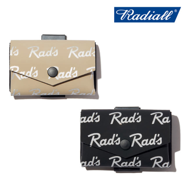 【SALE30%OFF】 RADIALL(ラディアル) RAD'S - TINY WALLET 【ウォレット 財布】【COM-ONO コラボレーション】【セール】【返品・
