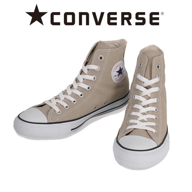 CONVERSE (コンバース)  CANVAS ALL STAR COLORS HI (BEIGE) 【キャンバス オールスター カラーズハイ ベージュ】【チャック・テイ
