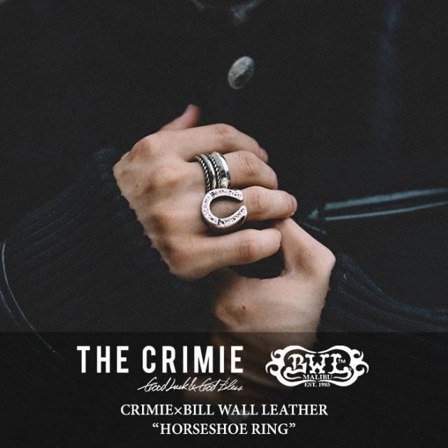 CRIMIE(クライミー) HORSESHOE RING 【2017AUTUMN/WINTER先行予約】 【送料無料】【キャンセル不可】 【C1G5-CRBW-R05C】 【CRI