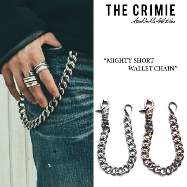 CRIMIE(クライミー) MIGHTY SHORT WALLET CHAIN 【2017AUTUMN/WINTER先行予約】 【送料無料】【キャンセル不可】 【CRIMIEウォレ