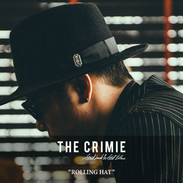 CRIMIE(クライミー) ROLLING HAT 【2017AUTUMN/WINTER先行予約】 【送料無料】【キャンセル不可】 【C1G5-CXHT-RH01】 【CRIMIE