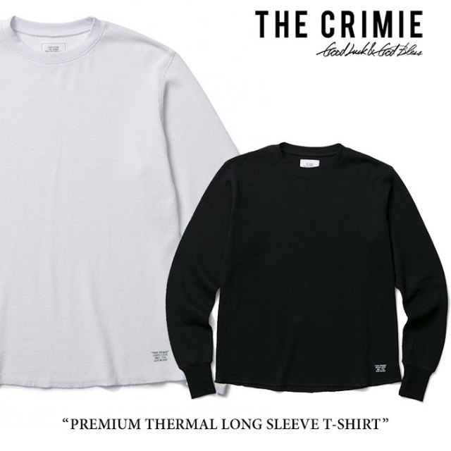 CRIMIE(クライミー) PREMIUM THERMAL LONG SLEEVE T-SHIRT 【2017AUTUMN/WINTER先行予約】 【キャンセル不可】 【C1G5-CXTE-TH01