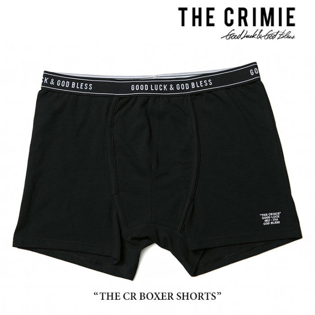 CRIMIE(クライミー) THE CR BOXER SHORTS 【2017AUTUMN/WINTER先行予約】 【キャンセル不可】 【C1G5-CXUW-01】 【CRIMIE アン