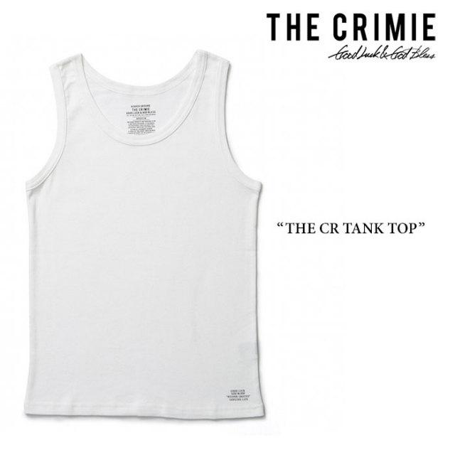 CRIMIE(クライミー) THE CR TANK TOP 【2017AUTUMN/WINTER先行予約】 【キャンセル不可】 【C1G5-CXUW-02】 【CRIMIE タンクト