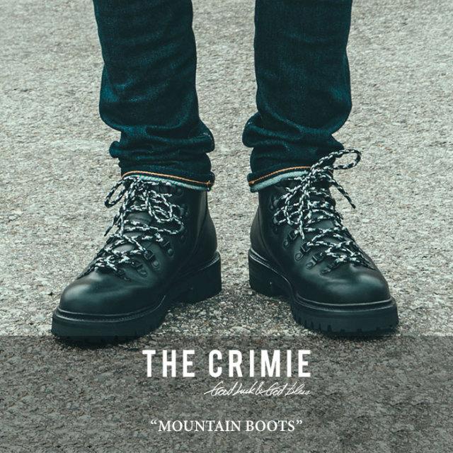 【SALE30%OFF】 CRIMIE(クライミー) MOUNTAIN BOOTS 【2017AUTUMN/WINTER新作】 【送料無料】【即発送可能】 【C1G5-SB03】 【