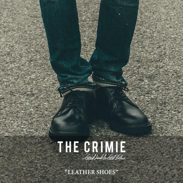 【SALE 30%OFF】 CRIMIE(クライミー) LEATHER SHOES 【2017AUTUMN/WINTER新作】 【送料無料】【即発送可能】 【C1G5-SB04】 【