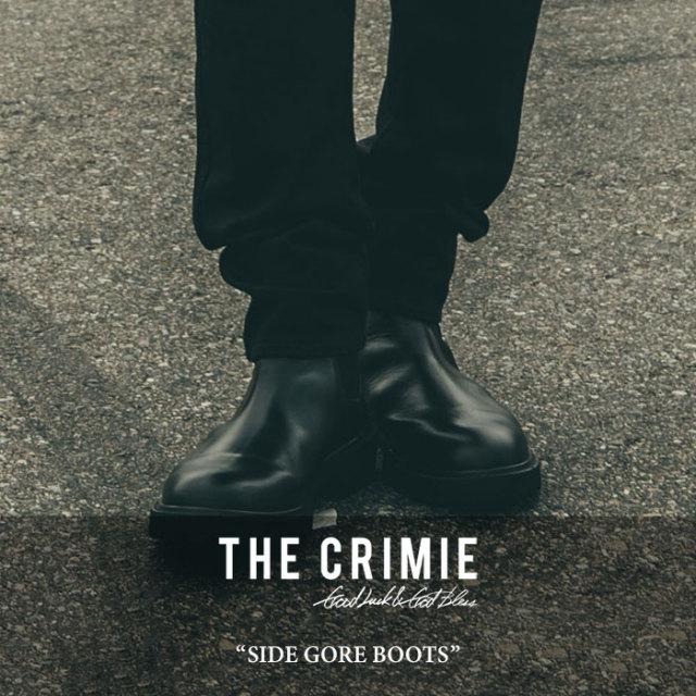 【SALE 30%OFF】 CRIMIE(クライミー) SIDE GORE BOOTS 【2017AUTUMN/WINTER新作】 【送料無料】【即発送可能】 【C1G5-SB05】