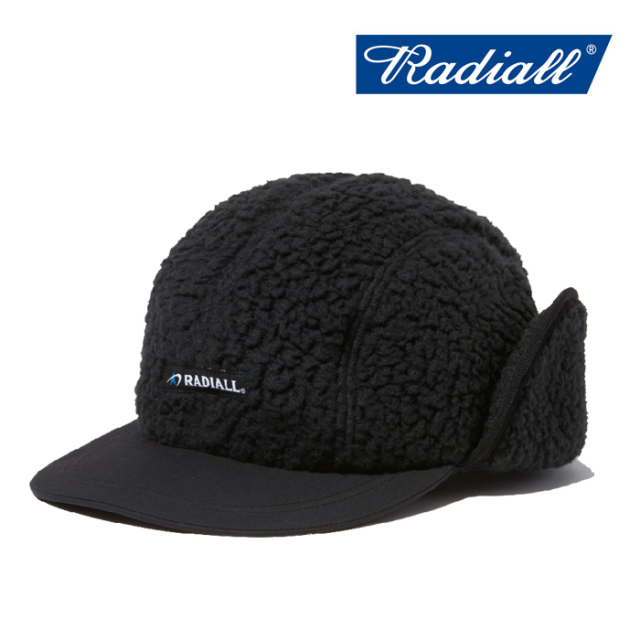 RADIALL(ラディアル) SMOKEY CAMPER-CAMP CAP 【2019 AUTUMN&WINTER COLLECTION】 【RAD-19AW-HAT004】【キャップ】