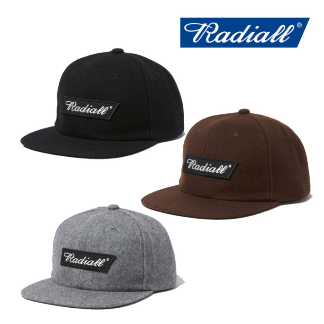 RADIALL(ラディアル) FLAGS - BASEBALL CAP 【2019 AUTUMN&WINTER COLLECTION】 【RAD-19AW-HAT008】【キャップ】