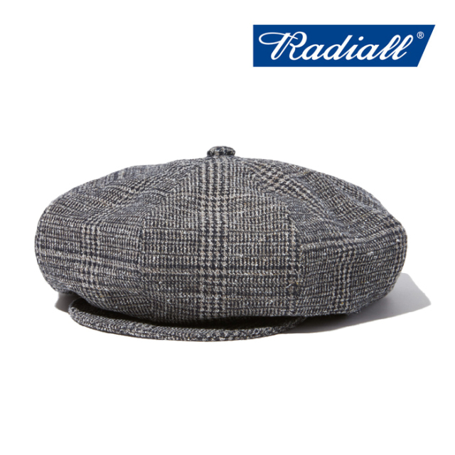RADIALL(ラディアル) MOS - CASQUETTE 【2019 AUTUMN&WINTER COLLECTION】 【RAD-19AW-HAT010】【キャスケット】