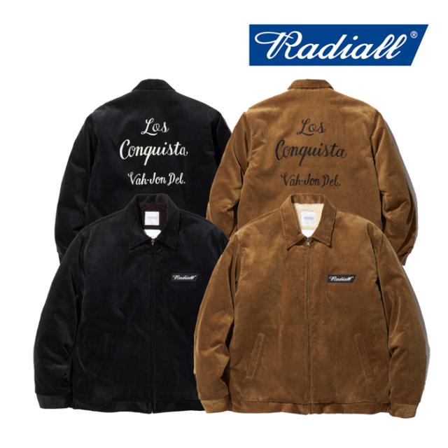 RADIALL(ラディアル) VAHJON-WORK JACKET 【2019 AUTUMN&WINTER COLLECTION】 【RAD-19AW-JK006】【ワークジャケット】