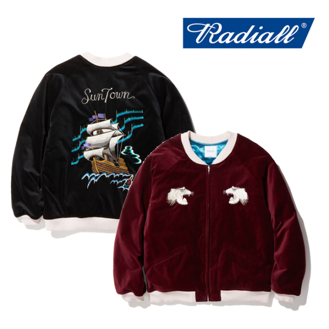 RADIALL(ラディアル) SAIL-SOUVENIR JACKET 【2019 AUTUMN&WINTER COLLECTION】 【RAD-19AW-JK014】【スーベニアジャケット】