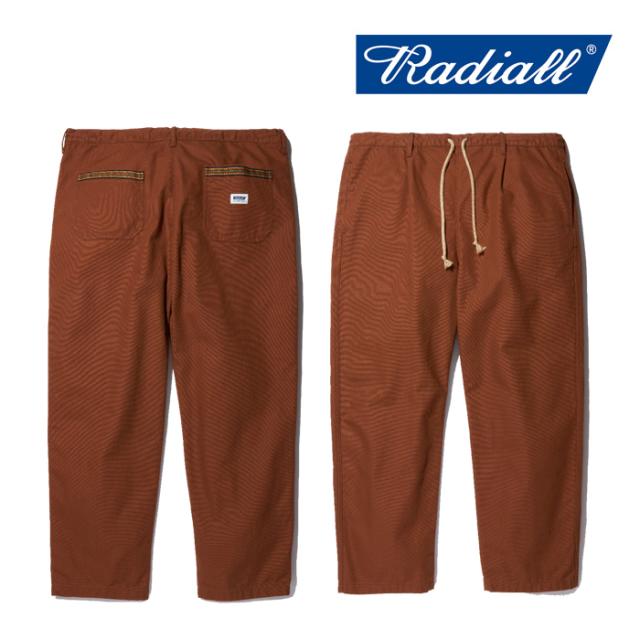 RADIALL(ラディアル) SUBERBAN- STRAIGHT FIT EASY PANTS 【2019AUTUMN&WINTER COLLECTION】 【RAD-19AW-PT006】【イージーパンツ