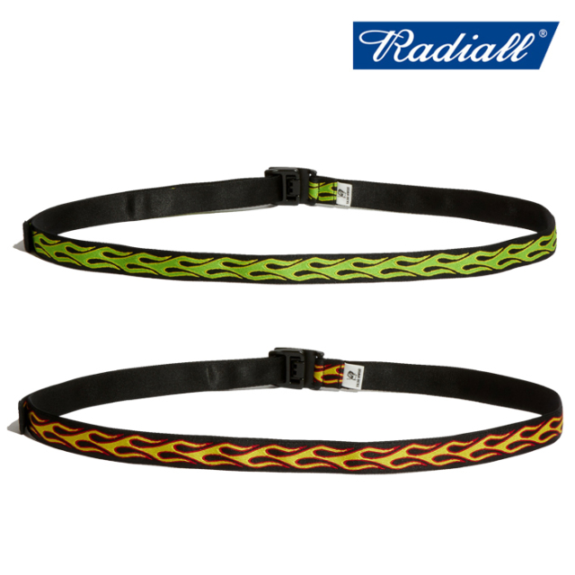RADIALL(ラディアル) FLAMES - NARROW BELT 【ベルト】【2020 SPRING&SUMMER COLLECTION】【RAD-20SS-ACC001】