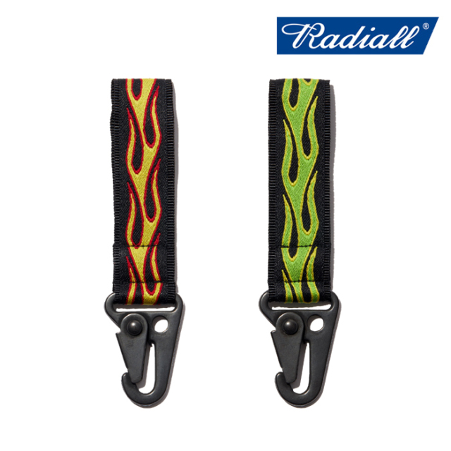RADIALL(ラディアル) FLAMES - KEY HOLDER 【キーホルダー】【2020 SPRING&SUMMER COLLECTION】【RAD-20SS-ACC002】