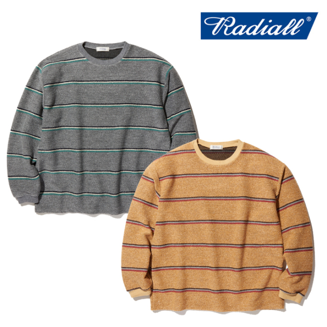 RADIALL(ラディアル) SKUNK - CREW NECK T-SHIRT L/S 【ロングスリーブTシャツ】【2020 SPRING&SUMMER COLLECTION】【RAD-20SS-CUT