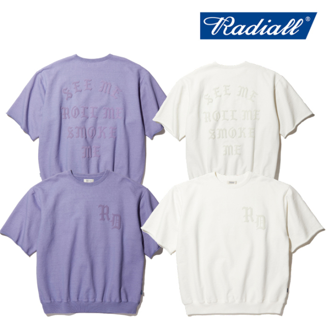 RADIALL(ラディアル) CRUISE - CREW NECK SWEAT SHIRT S/S 【スウェットTシャツ】【2020 SPRING&SUMMER COLLECTION】【RAD-20SS-CU