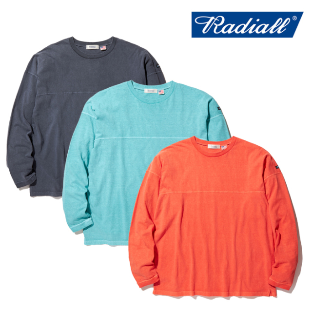 RADIALL(ラディアル) EL CAMINO - CREW NECK T-SHIRT L/S 【ロングスリーブTシャツ】【2020 SPRING&SUMMER COLLECTION】【RAD-20SS