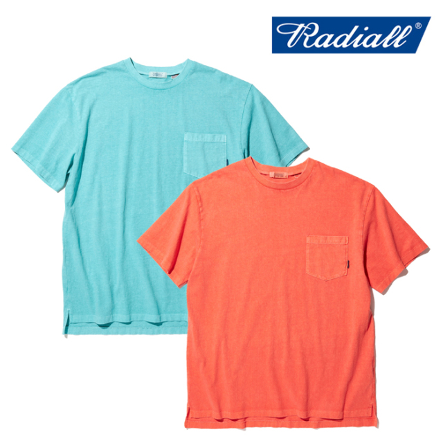 RADIALL(ラディアル) EL CAMINO - CREW NECK POCKET T-SHIRT S/S 【Tシャツ】【2020 SPRING&SUMMER COLLECTION】【RAD-20SS-CUT016