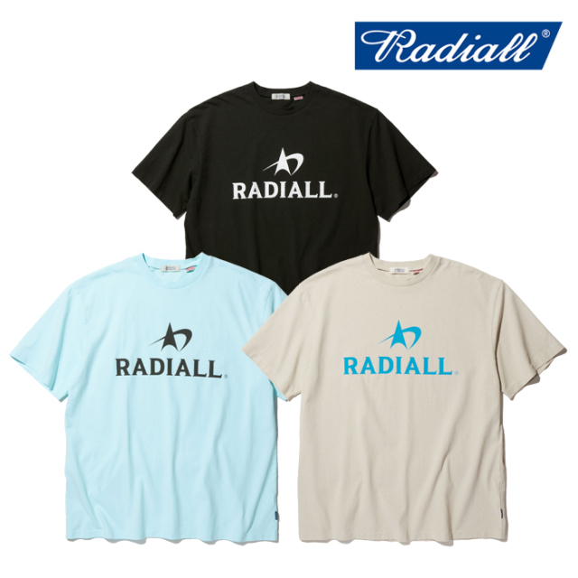 RADIALL(ラディアル) LOGOTYPE - CREW NECK T-SHIRT S/S 【Tシャツ ロゴ 半袖】【2020 SPRING&SUMMER COLLECTION 新作】【RAD-20SS