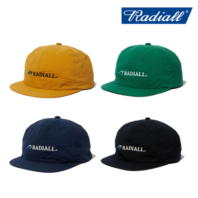 RADIALL(ラディアル) LOGOTYPE - BASEBALL CAP 【ベースボールキャップ 帽子】【2020 SPRING&SUMMER COLLECTION】【RAD-20SS-HAT00