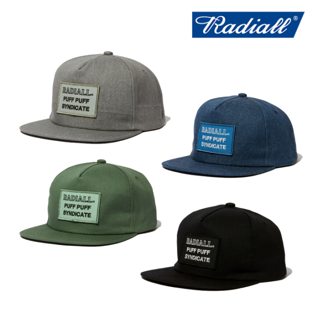 RADIALL(ラディアル) SYNDICATE - TRUCKER CAP 【トラッカーキャップ 帽子】【2020 SPRING&SUMMER COLLECTION】【RAD-20SS-HAT007