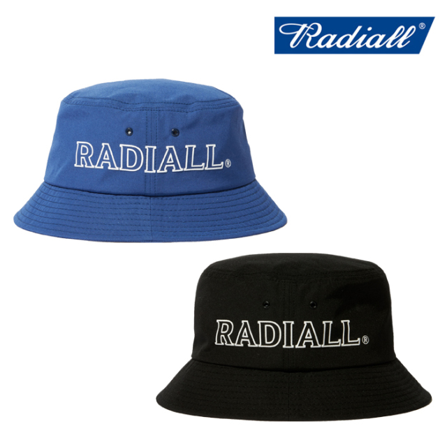 RADIALL(ラディアル) LOGOTYPE - BUCKET HAT 【バケットハット】【2020 SPRING&SUMMER COLLECTION】【RAD-20SS-HAT008】