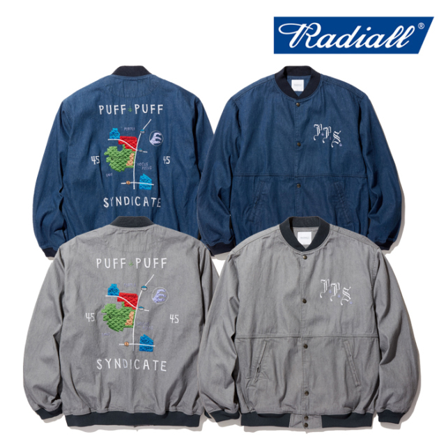 RADIALL(ラディアル) POLY HIGH - SOUVENIR JACKET 【スーベニアジャケット】【2020 SPRING&SUMMER COLLECTION】【RAD-20SS-JK003