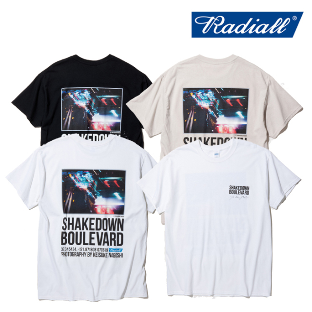 RADIALL(ラディアル) BOULEVARD-CREW NECK T-SHIRT S/S 【2020 SPRING&SUMMER COLLECTION】 【RAD-20SS-JW005】【Tシャツ】【名越