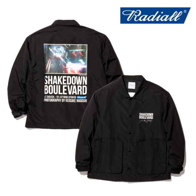 RADIALL(ラディアル) BOULEVARD-WINDBREAKER JACKET 【ウインドブレーカー コーチジャケット】【名越啓介 コラボレーション】【送