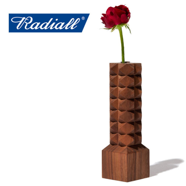 RADIALL(ラディアル) PYRAMID - VASE 【一輪挿し】【2020 SPRING&SUMMER COLLECTION】【RAD-20SS-JW007】