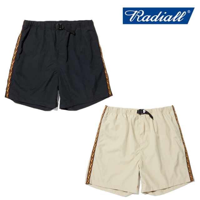RADIALL(ラディアル) FLAMES - EASY SHORTS 【イージー ショーツ】【2020 SPRING&SUMMER COLLECTION】【RAD-20SS-PT003】