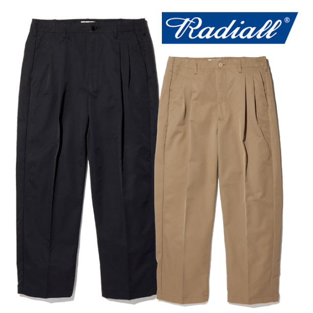 RADIALL(ラディアル) RUM - WIDE FIT TROUSERS 【パンツ トラウザース】【2020 SPRING&SUMMER COLLECTION】【RAD-20SS-PT004】