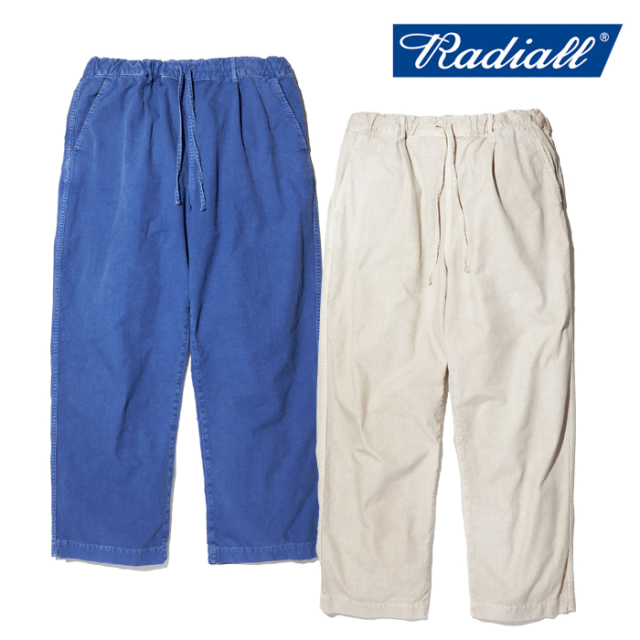RADIALL(ラディアル) DOWN HILL - WIDE FIT EASY PANTS 【イージーパンツ ワイド】【2020 SPRING&SUMMER COLLECTION】【RAD-20SS-P
