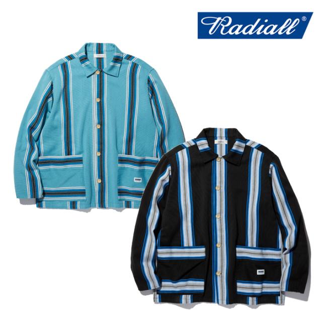 RADIALL(ラディアル) AZTEC - REGULAR COLLARED SHIRT L/S 【シャツジャケット サラぺ ジャガード】【RAD-20SS-SH009】【2020 SPRI