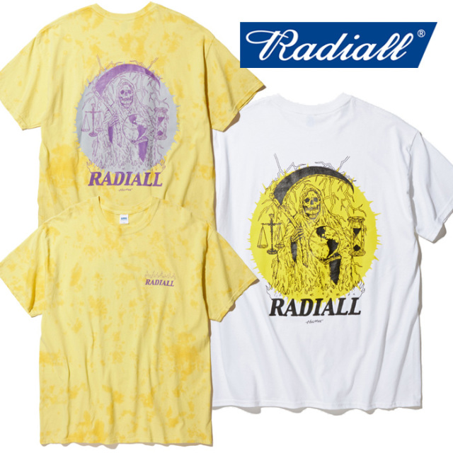 RADIALL(ラディアル) HOUR GLASS - CREW NECK T-SHIRT S/S 【Tシャツ 半袖】【2020 SPRING&SUMMER COLLECTION】【RAD-20SS-TEE001