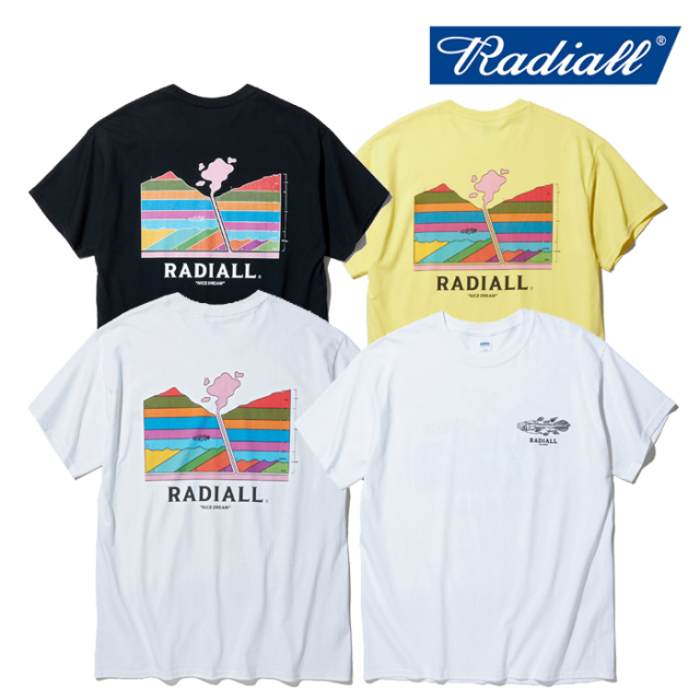 RADIALL(ラディアル) MANTLE - CREW NECK T-SHIRT S/S 【Tシャツ 半袖】【2020 SPRING&SUMMER COLLECTION】【RAD-20SS-TEE006】
