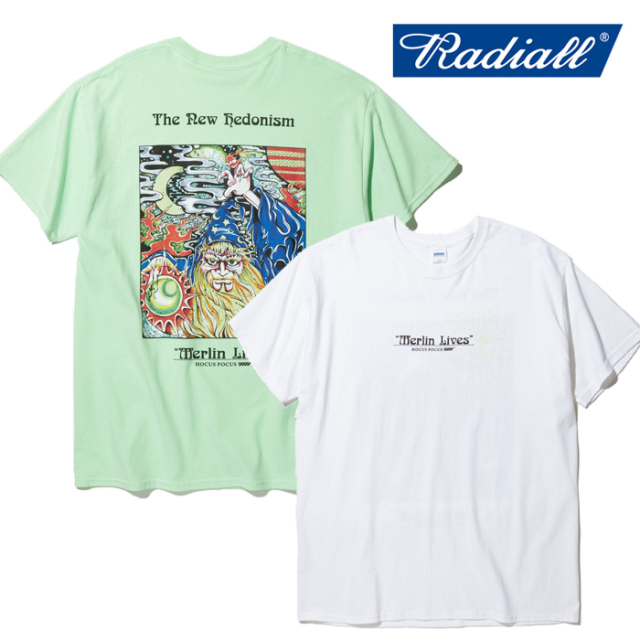 RADIALL(ラディアル) HOCUS POCUS - CREW NECK T-SHIRT S/S 【Tシャツ 半袖】【2020 SPRING&SUMMER COLLECTION】【RAD-20SS-TEE007