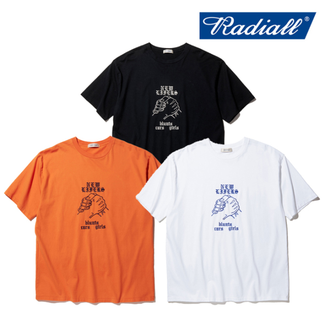 RADIALL(ラディアル) NEW LIFERS - CREW NECK T-SHIRT S/S 【Tシャツ 半袖】【2020 SPRING&SUMMER COLLECTION】【RAD-20SS-TEE009