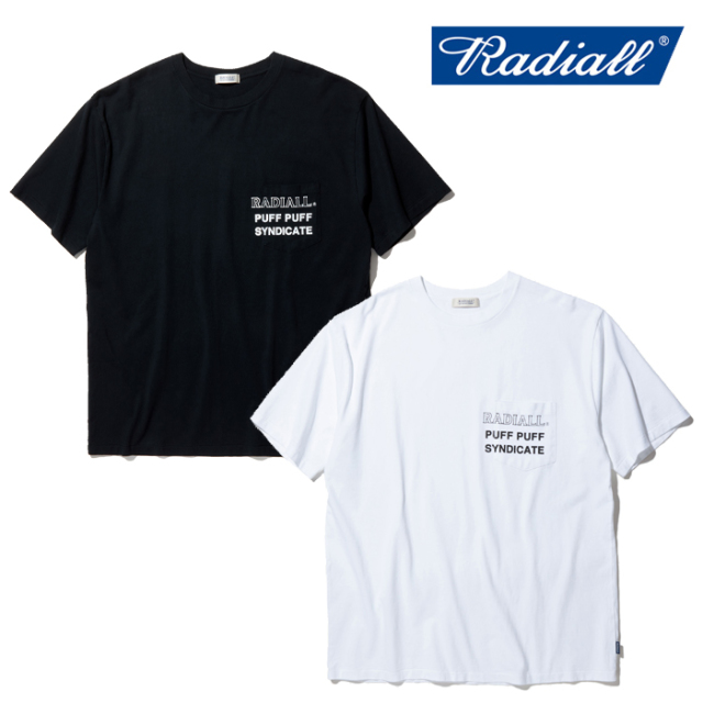 RADIALL(ラディアル) SYNDICATE - CREW NECK POCKET T-SHIRT S/S 【Tシャツ 半袖】【2020 SPRING&SUMMER COLLECTION】【RAD-20SS-T