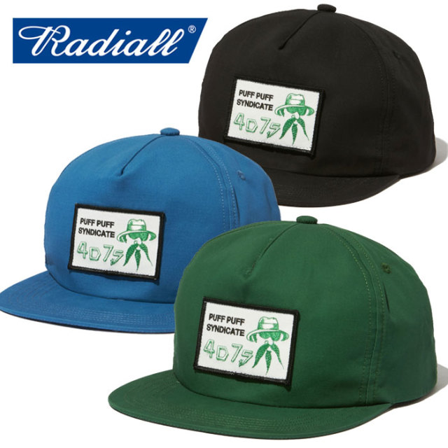 RADIALL(ラディアル) JOINT - TRUCKER CAP 【トラッカー キャップ】【2020 SPRING&SUMMER COLLECTION SPOT】【RAD-4D7S002】【RATH