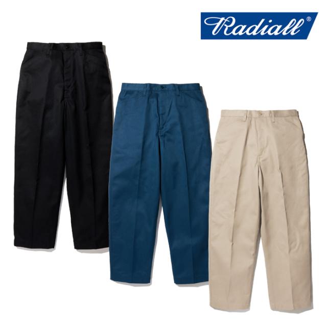 RADIALL(ラディアル) CVS WORK PANTS - STRAIGHT FIT 【ワークパンツ チノパン ストレート 定番】【2020 SPRING&SUMMER COLLECTION