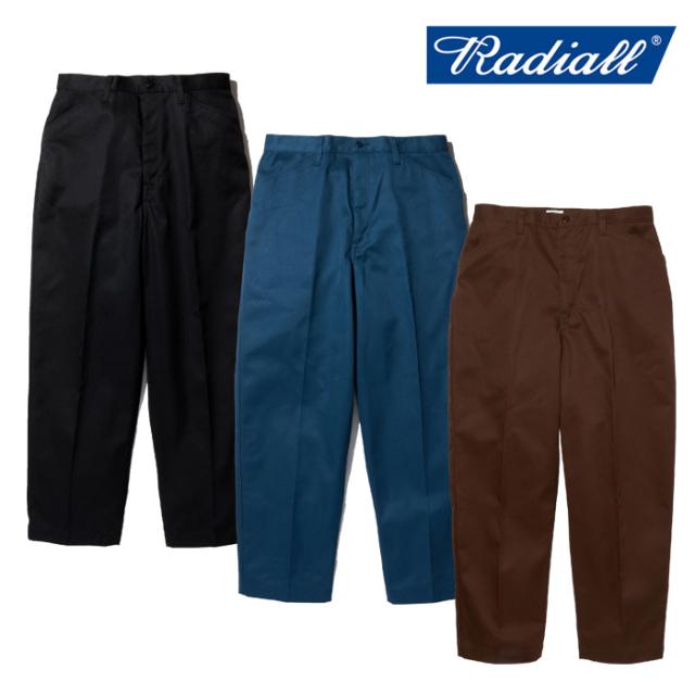 【SALE30%OFF】  RADIALL (ラディアル)  CVS WORK PANTS - STRAIGHT FIT  【ワークパンツ チノパン ストレート 定番】【セール】