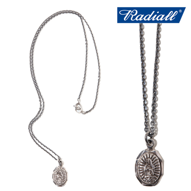 RADIALL (ラディアル)  LOWRIDER CHARM- NECKLACE(925SILVER)  【2020 AUTUMN&WINTER SPOT】  【RAD-JWL021-01】【SILVER】【シル