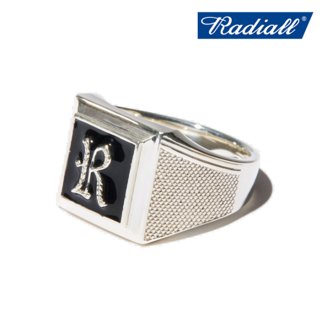 RADIALL(ラディアル) SYMBOLIZE - PINKY RING(SILVER) 【ピンキーリング 指輪 アクセサリー シルバー】【2020 SPRING&SUMMER COLLE