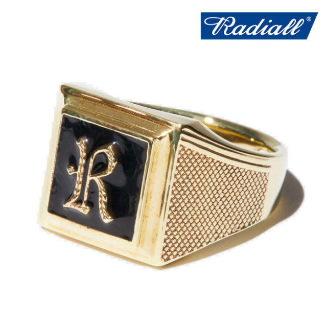 RADIALL(ラディアル) SYMBOLIZE - PINKY RING(BRASS) 【ピンキーリング 指輪 アクセサリー ブラス】【2020 SPRING&SUMMER COLLECTI