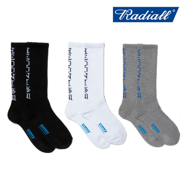 RADIALL(ラディアル) 2PAC SOX - HEDONISM 【ソックス】【2020 SPRING&SUMMER COLLECTION】【RAD-PAC036】